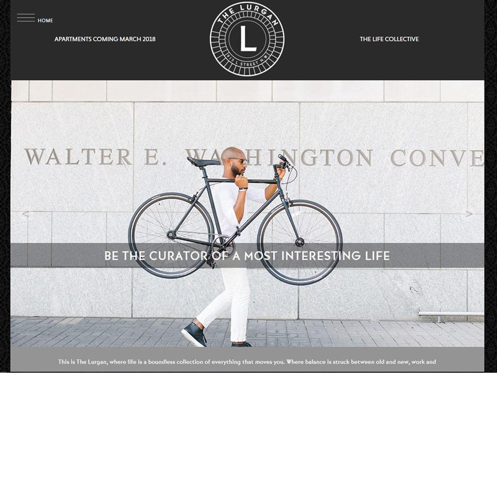 The Lurgan website screenshot