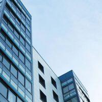 Apartment building high rise